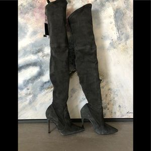 New Zara Leather boots